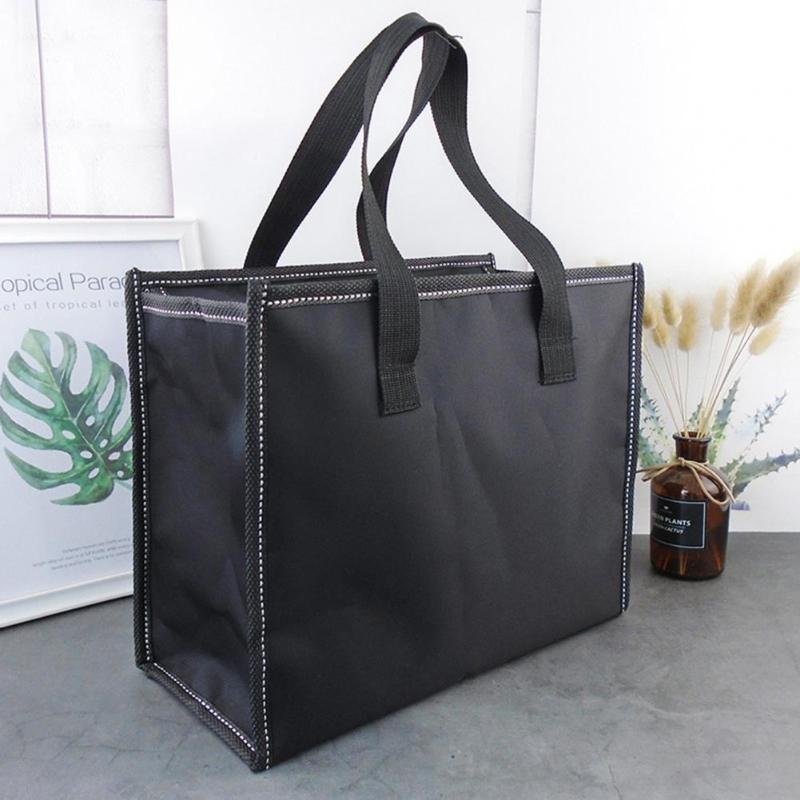 Bolsa portátil da caixa de almoço Bento grande capacidade de armazenamento de sacos de armazenamento