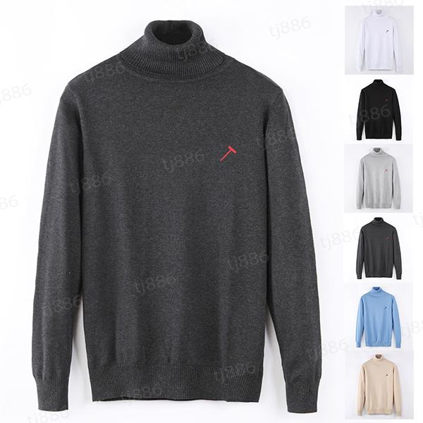 desenhador camisola homens mulheres sênior clássico de manga comprida roupas lazer suéteres multicolor outono inverno manter quente confortável 7 tipos de escolha top1
