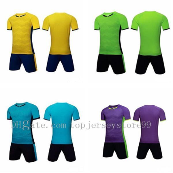 Team soccer jersey Men pantaloncini da football Short sportswear Running clothes Grey Multi Gold Beige PurpleIvory Lavender 600-7