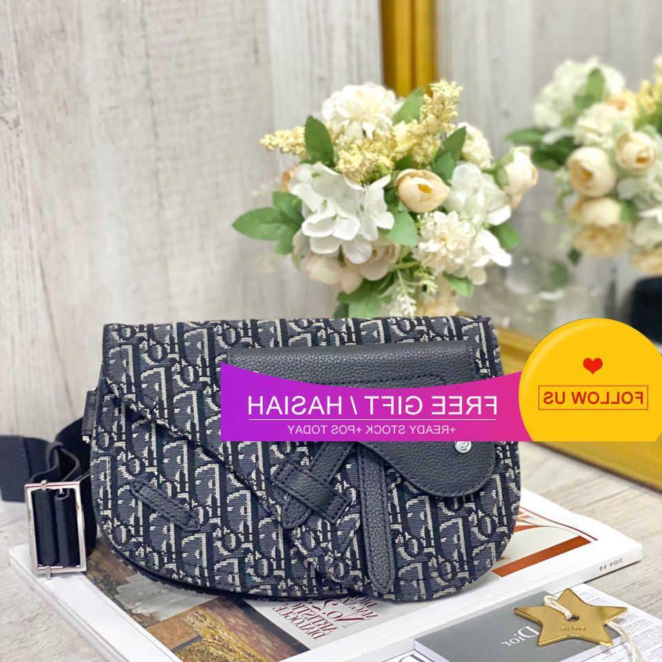 Saddle Bag Men's and Women's Fashion Simple Shoulder Hand Messenger Handbag