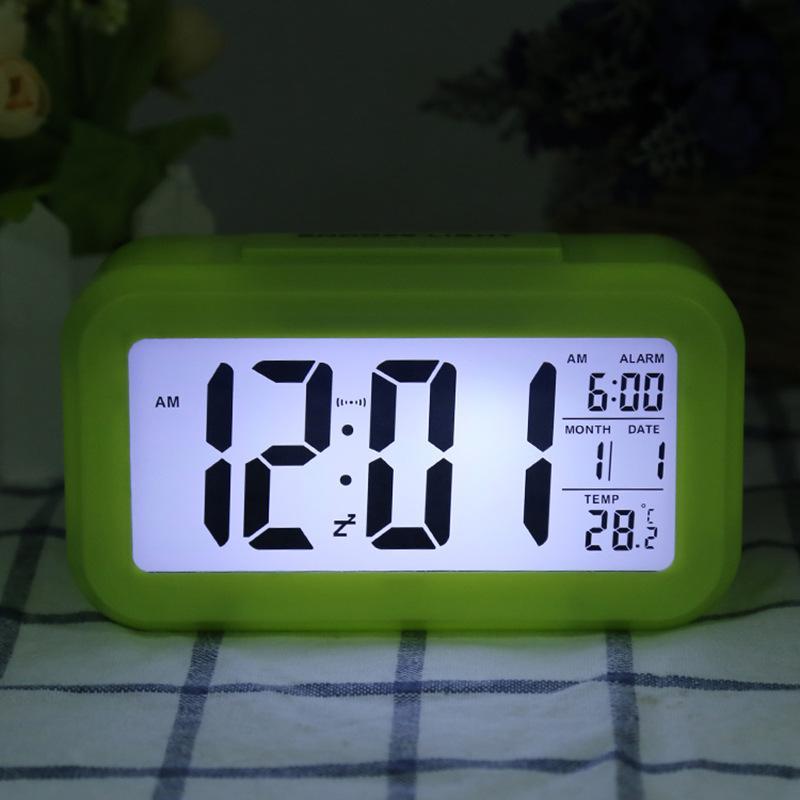 Улучшенная версия многофункциональных смарт-часы с большим экраном дисплея, фоточувствительная температура версия, светящийся будильник 316 S2