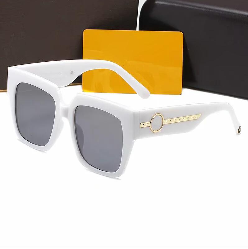Novos óculos de sol 1074 de alta qualidade para homens e mulheres. Óculos de sol de quadro grande para a Europa e América