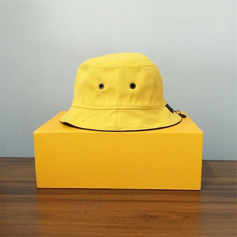 مصمم كاب أزياء بيسي بريم القبعات ارتداء مزدوج مع رسائل شاطئ القبعات تنفس للجنسين أربعة موسم قبعات عالية الجودة