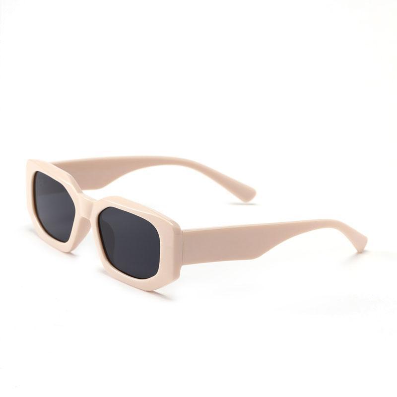 Lunettes de soleil rétro classique petit polygone homme marque deigneur lunettes lunettes femmes vintage métal cadre carré lunetier uv400