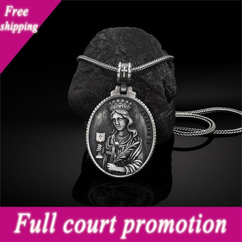 Pure Tin Style Religieux Saint Graal Accessoires Collier Pendentif catholique Nouveau