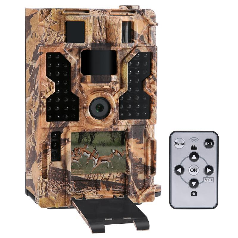 트레일 카메라 나이트 비전 사냥 PO 트랩 IP54 방수 야외 야생 32PCS 적외선 850nm 카메라
