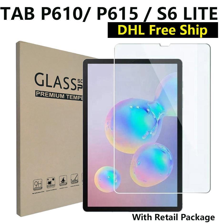 삼성 갤럭시 탭 S6 S7 T870 T500 S4 T830 S5E T720 / 소매 패키지 용 9H 강화 유리 화면 보호기