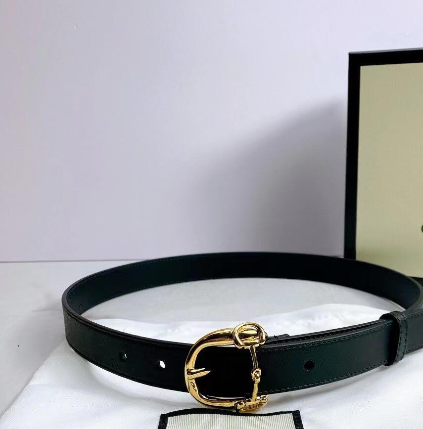 2021 Moda Donna Lussurys Designer Designer Cinture Cintura classica con scatola, produzione in pelle reale, fonte di fabbrica