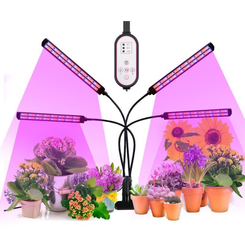 식물 성장 조명 216LED 120W 플랜트에 대 한 전체 스펙트럼 phytolamp 실내 식물성 꽃 씨앗 phyto 램프 DC12V 성장