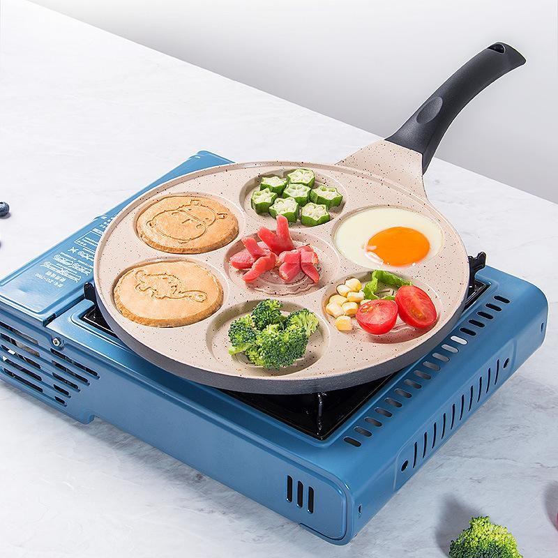 PANS aimant l'alliage d'aluminium chaud omelette PAN PANCAKE MASSE PANCAKE PANCAKE PANCAKE NO-Stick Dumpling Dumpling Moule