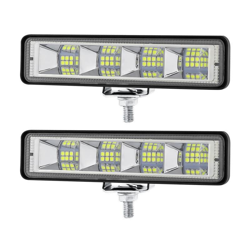 Working Light Carro Branco Lâmpada de Condução 72W LED Bar Flood Trabalho Emergência Reparação de Barco de Motocicleta Modificado