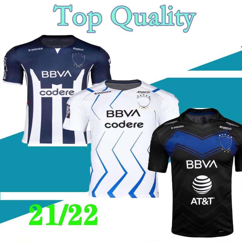 2021 2022 Rayados Monterrey Soccer Jerseys Home Away 3ème R.Funes Mori M.Meza 21 22 Football Adulte Chemise Enfants S-XXL