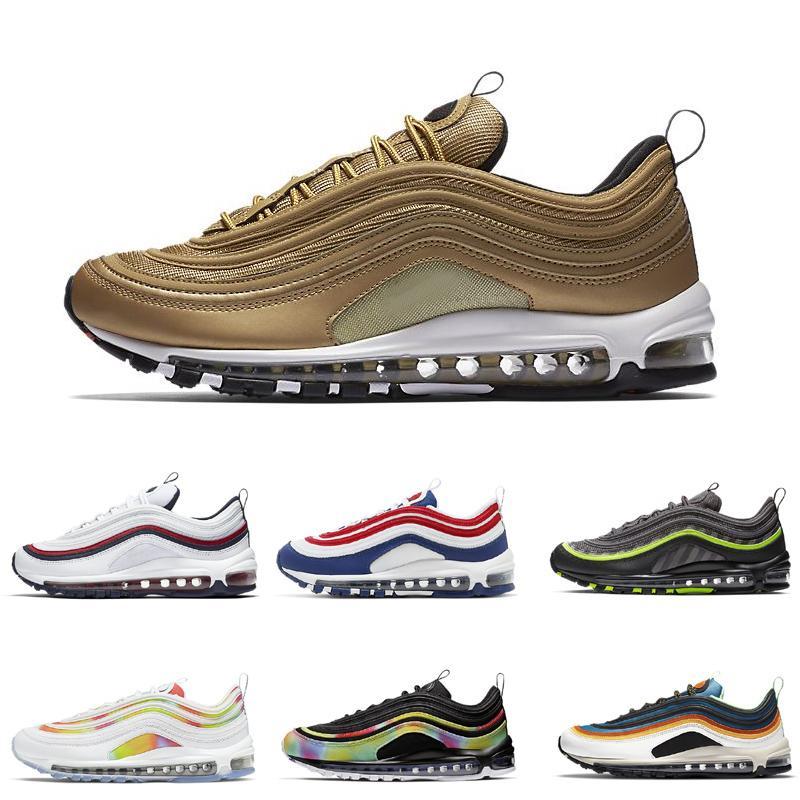Sliver Kugeln Schwarze weiße Schuhe für Männer Frauen Laufende Sport Sneaker Größe US36-45
