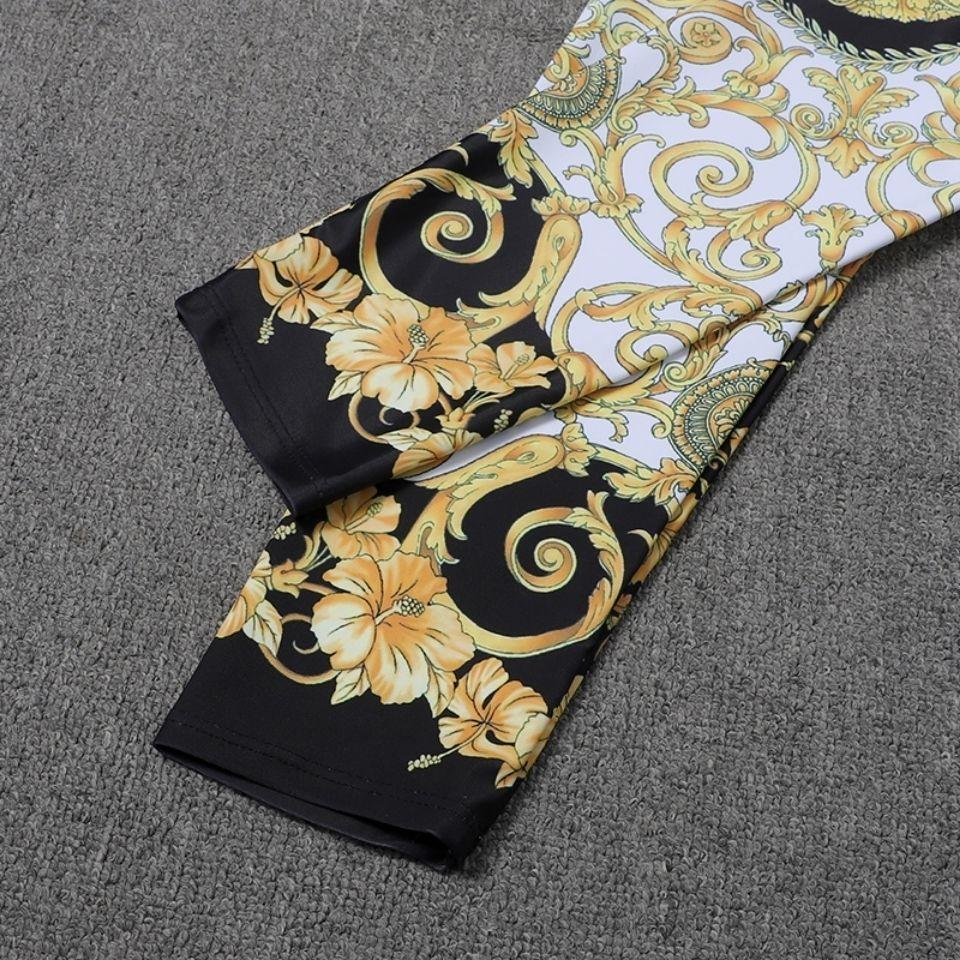 Designer de luxo biquíni moda na moda nova moda roupas vintage quadra estilo estiramento estiramento slim fit leggings calças casuais nadar
