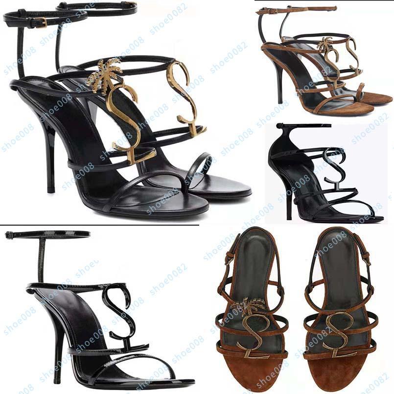 Designer di lusso Sandali Tacchi alti Scarpe da donna Tacchi alti neri Abito da sposa da donna con scatola 35-41 shoe10 1
