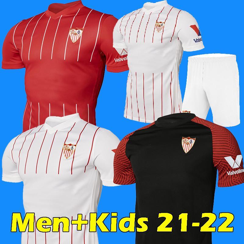 2021 21 22 Sevilla Fc Soccer Jersey Kounde I Rakitic Ocampos De Jong J Navas Suso Munir Diego Carlos 2021 2022 Men Kids Kits Football Shirts From Isoccer 14 1 Dhgate Com