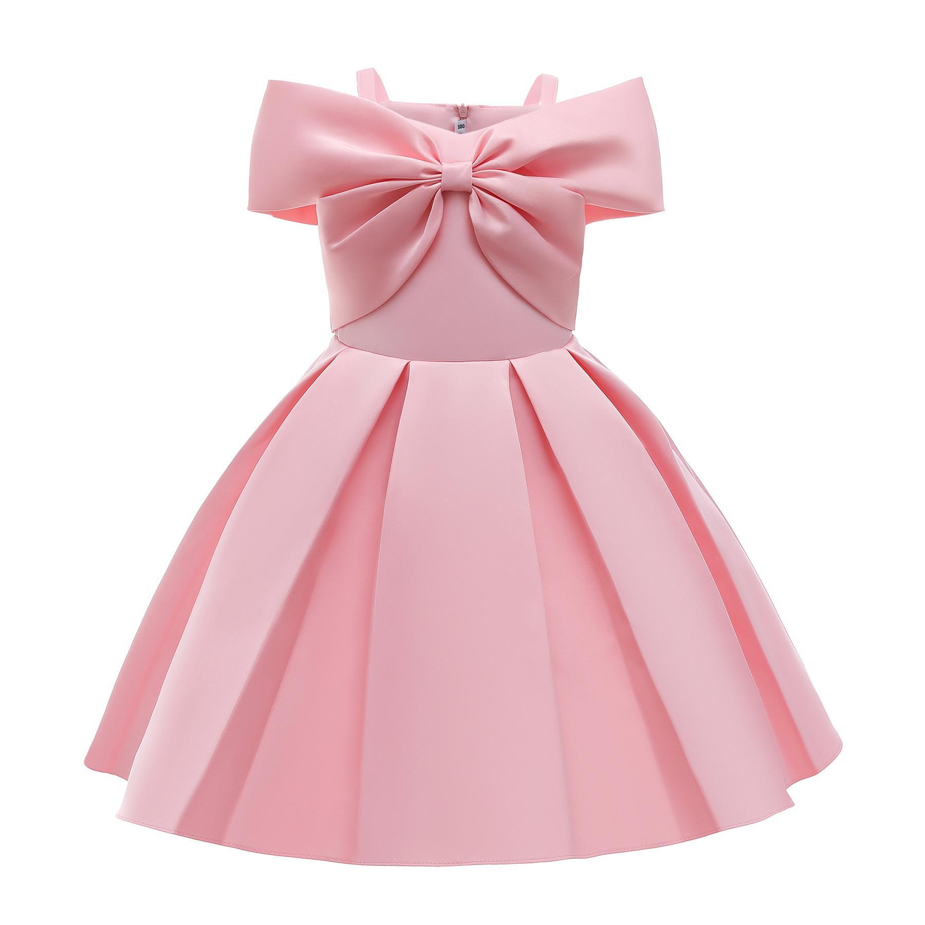 أطفال بنات الأميرة اللباس عيد القوس أنيقة زفاف عيد ميلاد حزب الرسمي 2021 فساتين الطفل