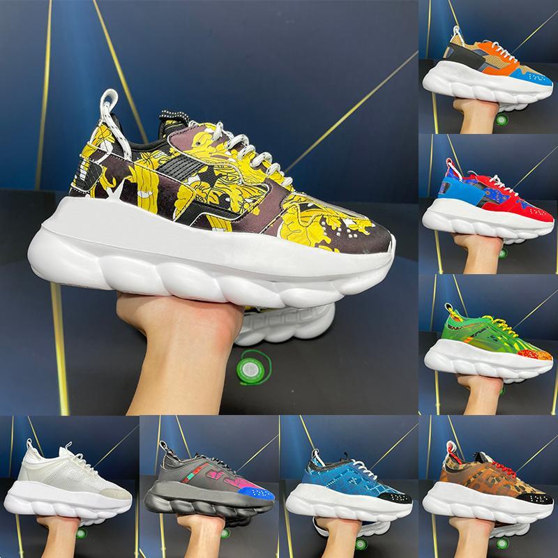 2021 Top Italia Seda reflectante Reacción Zapatillas de deporte Casual Shoes 2.0 Fluo Leaopardo Floral Triple Negro Blanco Multi-color Suede Hombres Mujeres Diseñadores