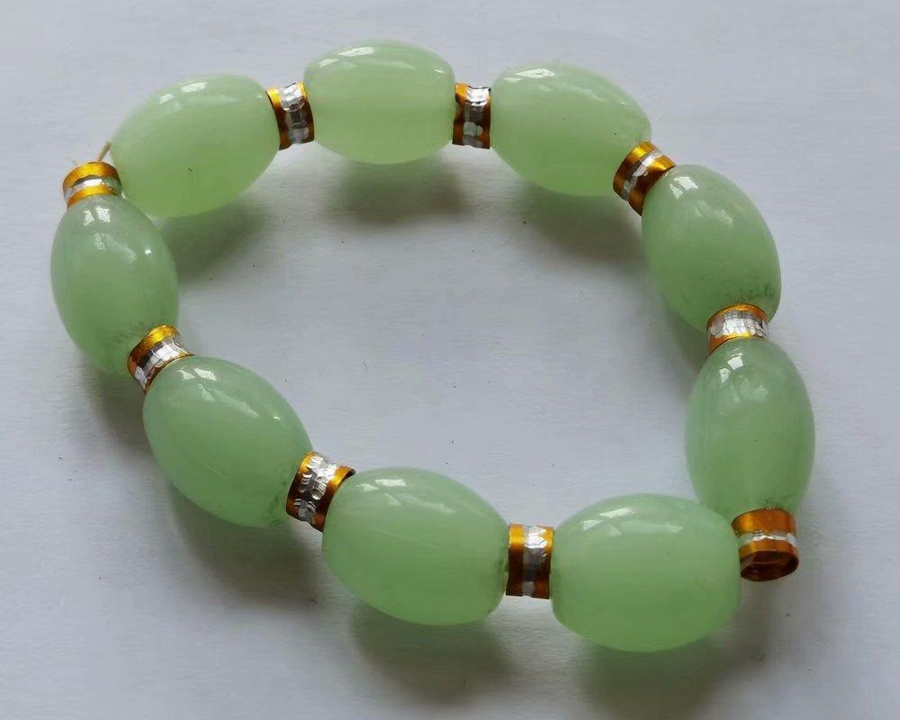 12 قطع سوار ماجيك اليدوية الزجاج الخرز المجوهرات