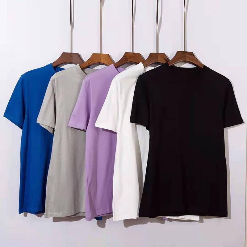 Mens Designer Tshirts Summer Men and Women Short Sleeve Top Tees Badge Shirts Clothes Size M-2XL High Quanlity