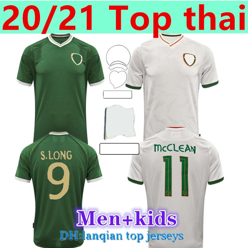 20 21 ايرلندا لكرة القدم جيرسي البيت الابتعاد الجمهورية الوطنية تايلاند الجودة زي الاطفال كيت