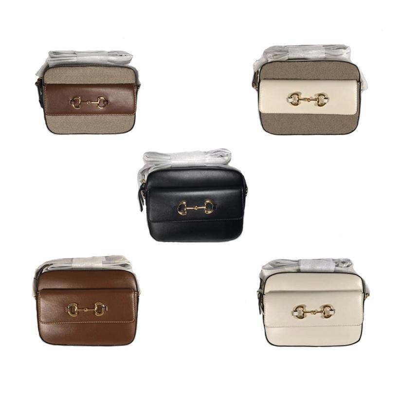 Finish Gold-tonte Bags Handtasche Crossbody Bag A oder Hardware-Leinwand-Wildleder-ähnliches Leder-Mikrofaser-Futter mit Details Designer Luxurys G HWVI