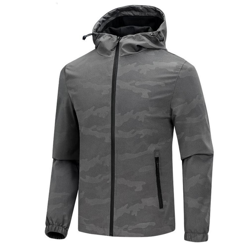 Jaqueta masculina do outono casual masculino ao ar livre windbreaker respirável casacos moda camuflagem jaquetas esporte homens roupas