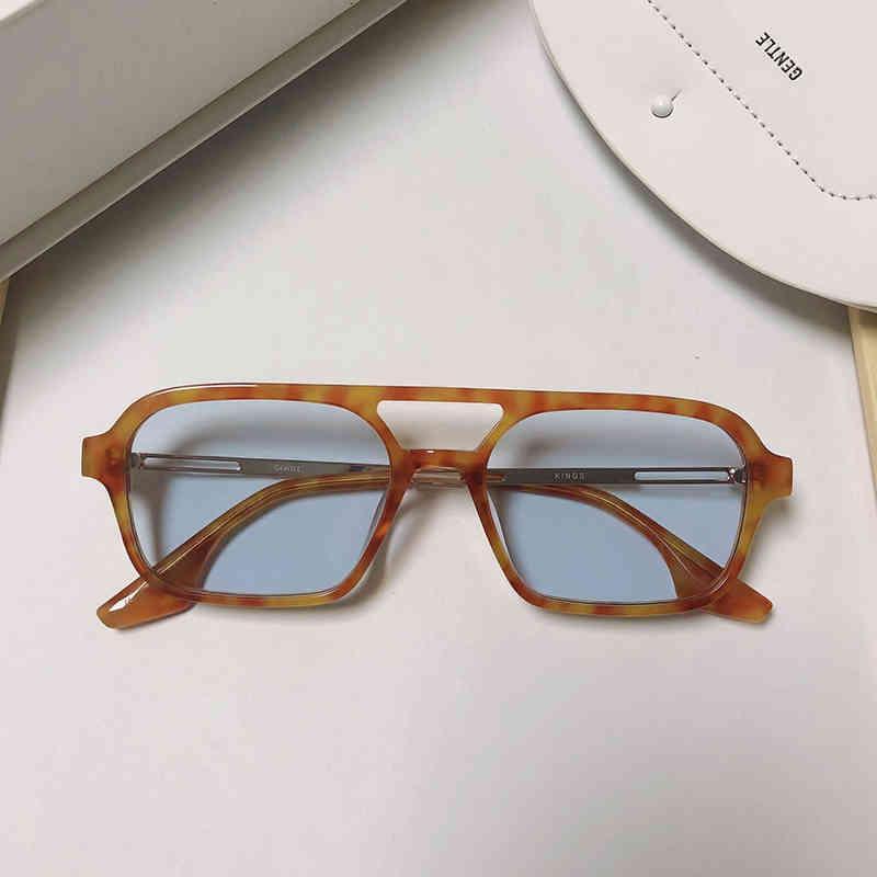 الكورية 2021 جديد فاخر ماركة g. نظارات شمسية النساء الرجال الملوك uv400 عدسات نظارات الشمس للرجل المرأة الأزياء