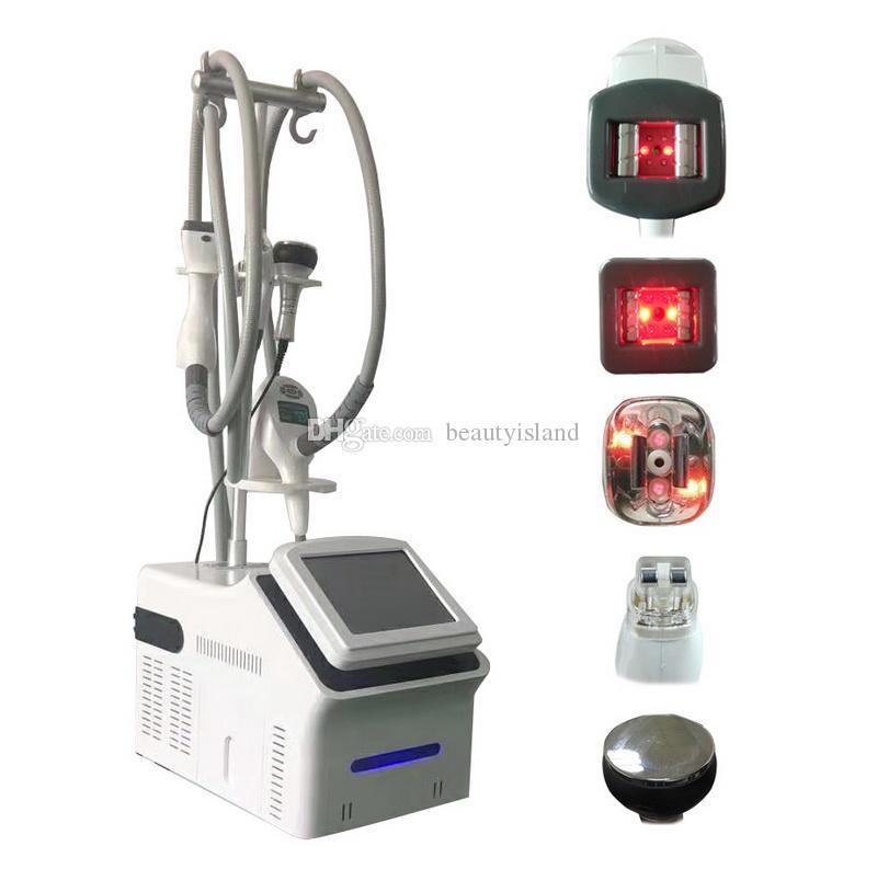 진공 롤러 Vela 바디 모양 슬림 장비 적외선 라이트 Vela 슬림 초음파 Cavitation 무선 주파수 지방 흡입 기계 슬리밍 기계