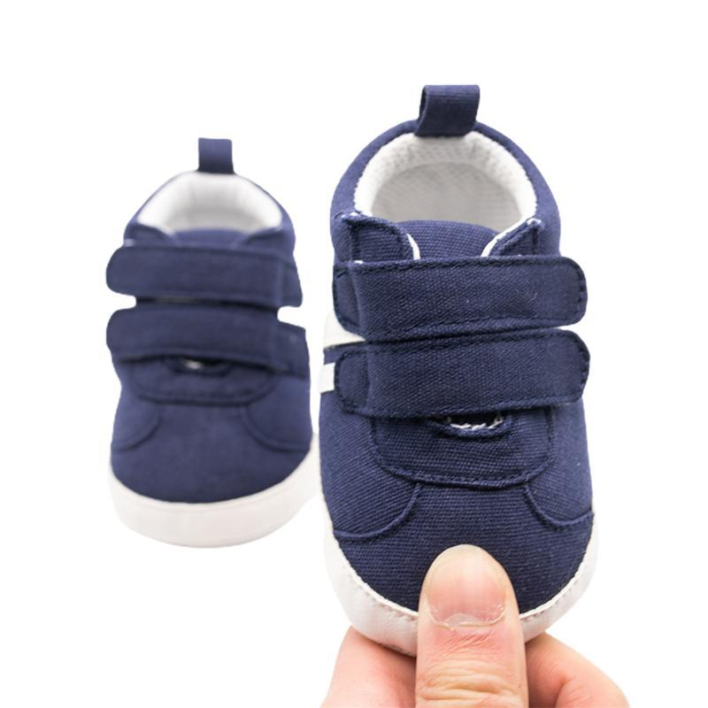 0-18m bébé garçons filles Sneakers Spring and Automne Soft Soft Sold Towdler Chaussures Premiers Walkers