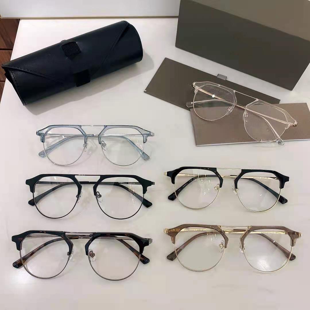 2021 Sunglasses selling Designer Retro Full Frame Eyeglasses Mens and Womens Lens Transparent UV400 Glasses Case Driving Glass
