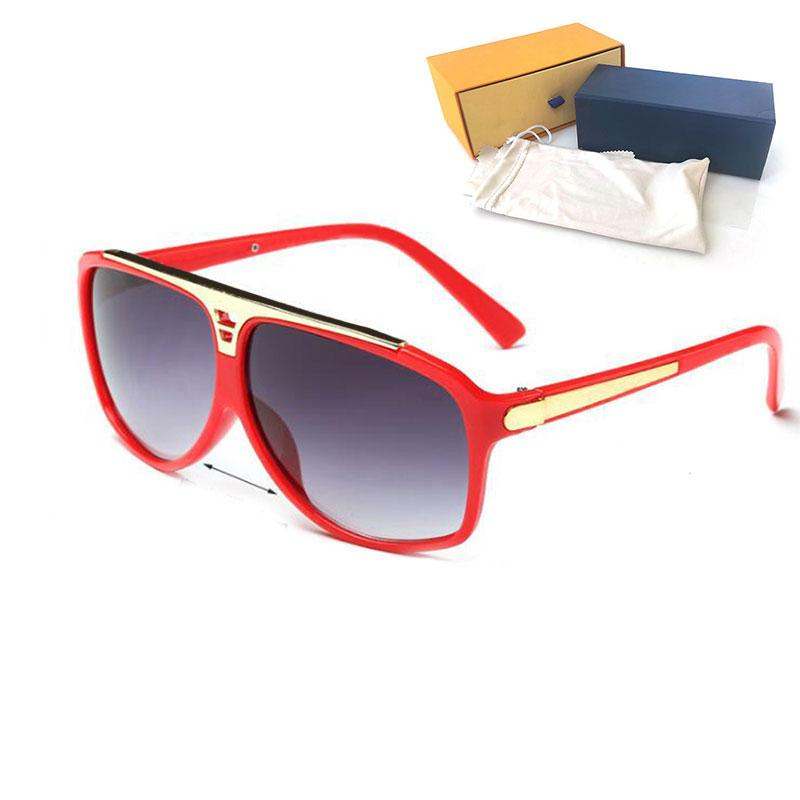 High Quality Womans Sunglasses Luxury Mens Sun glasses UV Protection men Designer eyeglass Gradient Metal hinge Fashion women spectacles with boxs 0350W