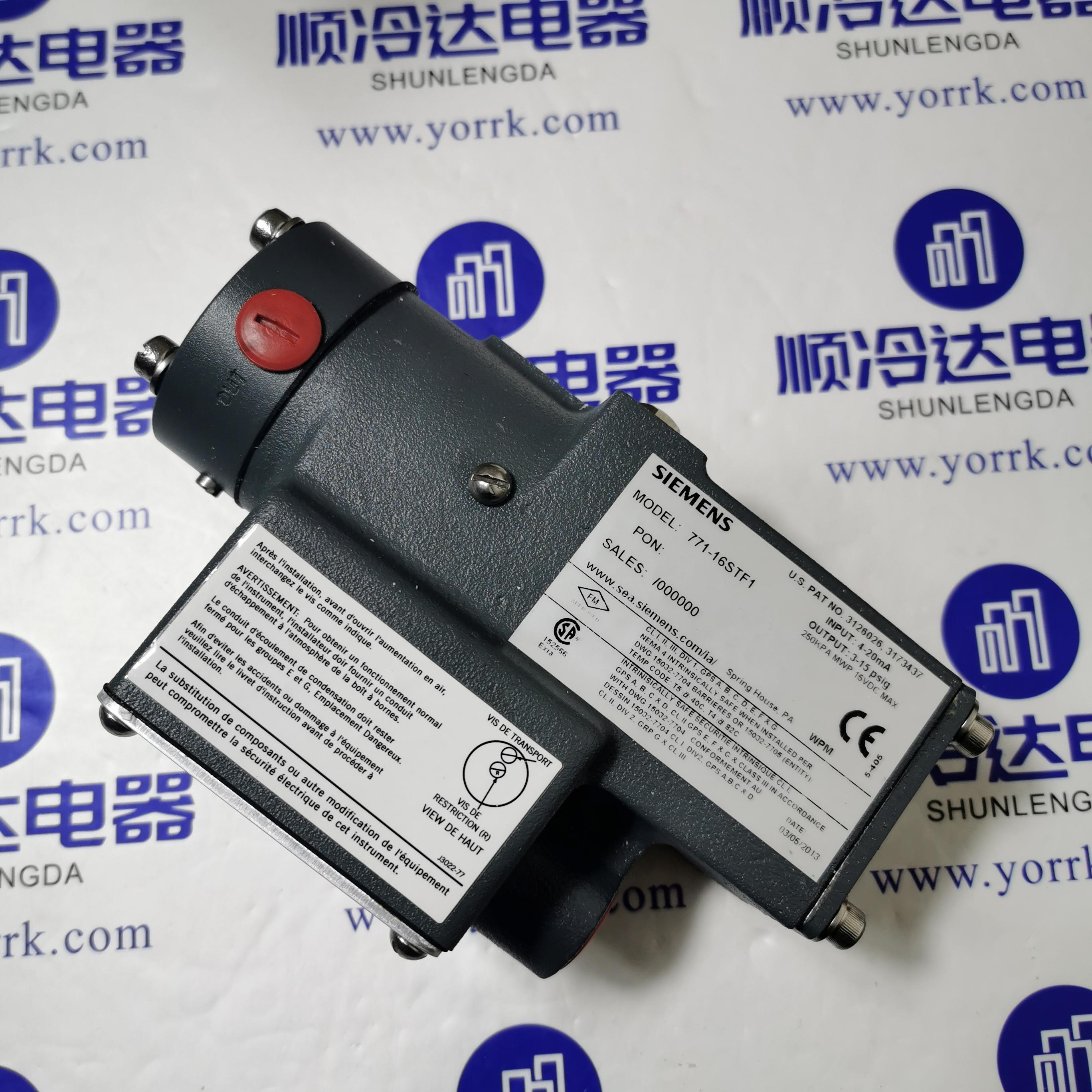 Original air conditioner repair parts Siemens current sensor 771-16STF1