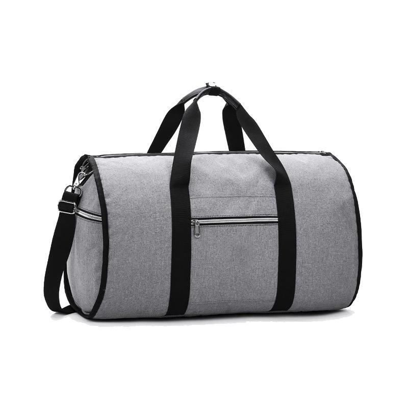 Duffel Bags Convertible 2 In 1 Garment Bag With Shoulder Strap, Luxury For Men Women Hanging Suitcase Suit Travel