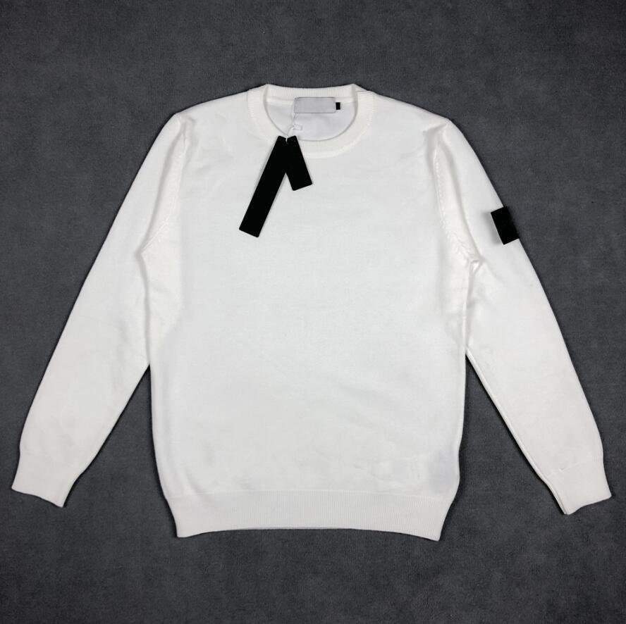 Designeur de haute qualité Sweaters pour hommes Fashion Pull à manches longues Simple Couleur Solide O-Cou Casual Pulls Casual Hommes Sportwear Jumpers