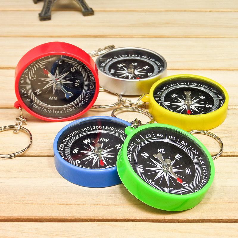 High Precisão Estabilidade Americana Compass Keychain Compass Mini Bússola Bolso Ao Ar Livre Gargets Engrenagem para Caminhadas Camping