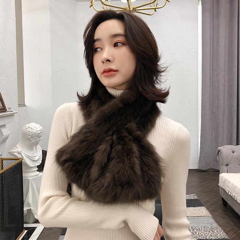 겨울 스카프 여성 정품 sable 스카프 최고 품질 니트 neckerchief S7723