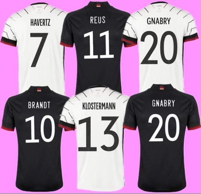 Almanya Futbol Forması 2021 Hayranları Sürüm Hummels Kroos Gnabry Werner Draxler Reus Muller Gotze Avrupa Kupası Futbol Gömlek Üniformaları Boyut S-4XL