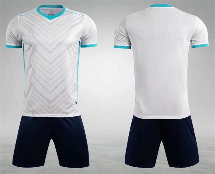 0211 Hommes Football Shirt Kits de football Jersey Taille adulte Taille d'adulte Suit Ensemble de jogging Tracksuit Set