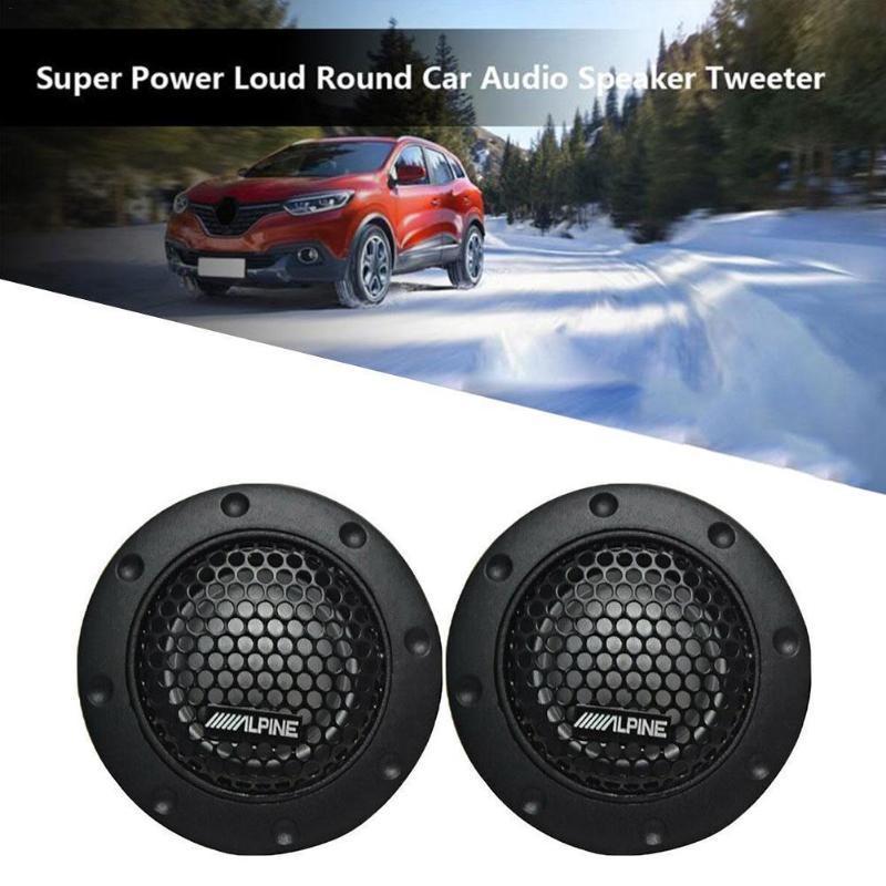 Innenausstattung 2 stücke 1,5 Zoll Auto Audio modifiziert Lautsprecher Hochtöner Seidenfilm, Hochtöner, Modifikation, Sprecher,
