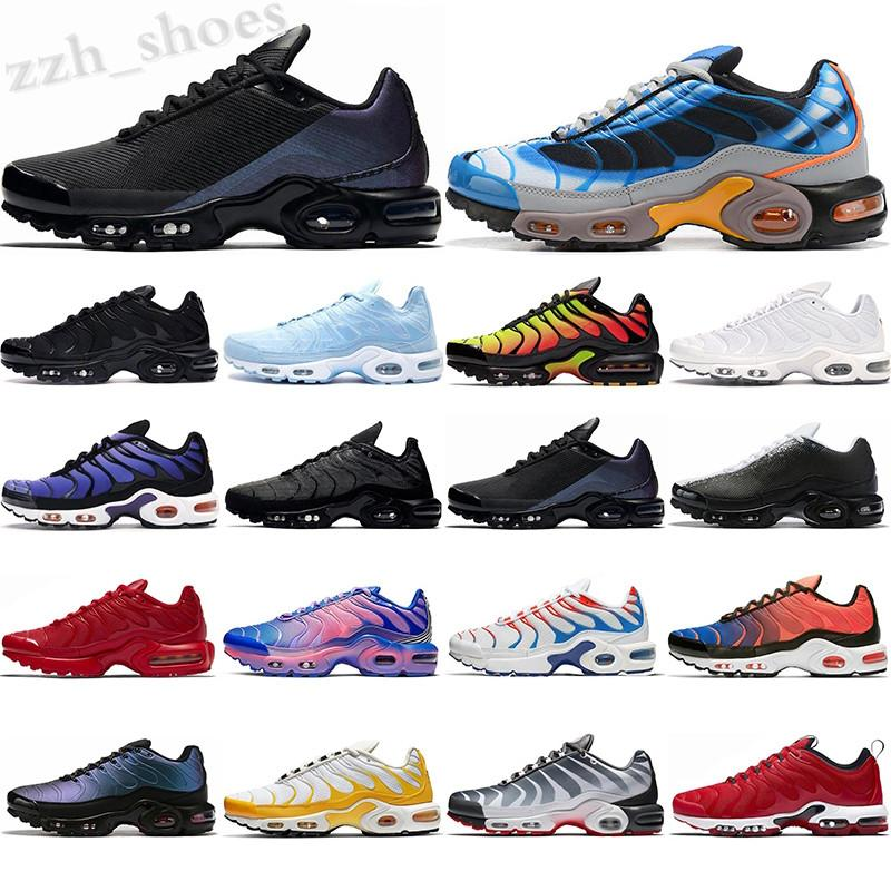 Nike Air VaporMax TN SE Donanma Mavi Tonlar Geçiş Bağcık Erkek Rahat Ayakkabılar Des Chaussures TNS 3 Volt Glow Sneakers Takım Kırmızı Paraşüt Erkekler Spor PR08