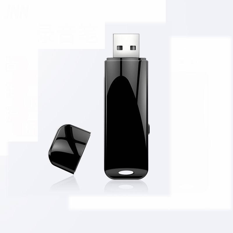 Q32 USB Flash Drive Voice Recorder Small VOX Activated Record Mini Disk Smallest Audio Sound Recording Device 8/16GB
