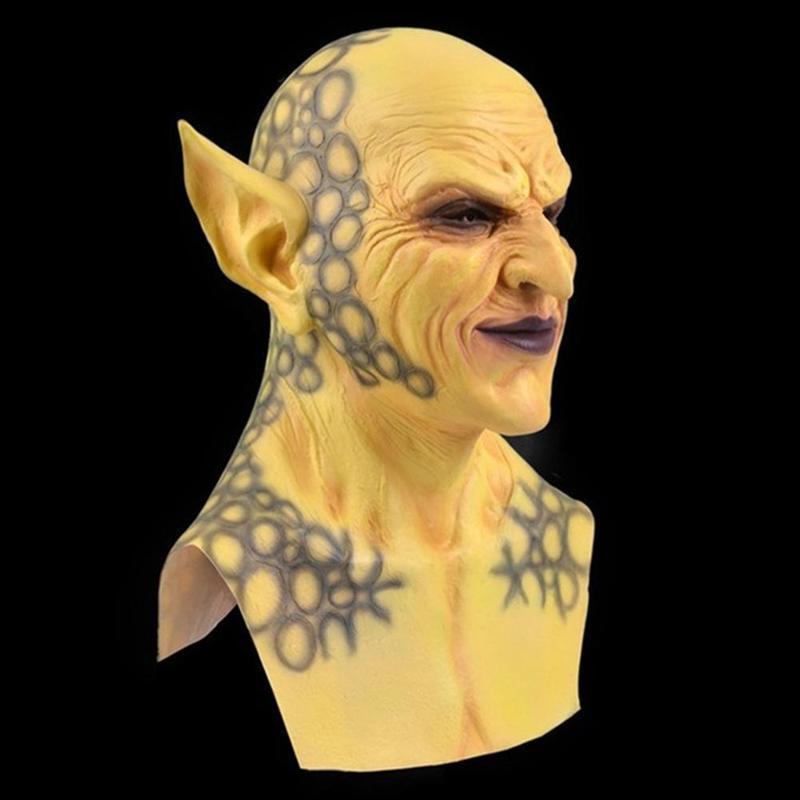 Party Masks 1pc Halloween Devil Clown Mask Headgear Latex Cosplay Props Goblins Funny Horror Tools