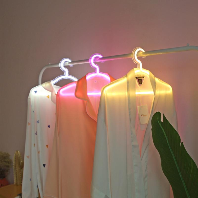 LED 네온 사인 빛 SMD2835 PVC 및 아크릴 행거 핑크 화이트 따뜻한 조명 실내 휴가 조명 파티 웨딩 스토어 장식에 대 한 충전