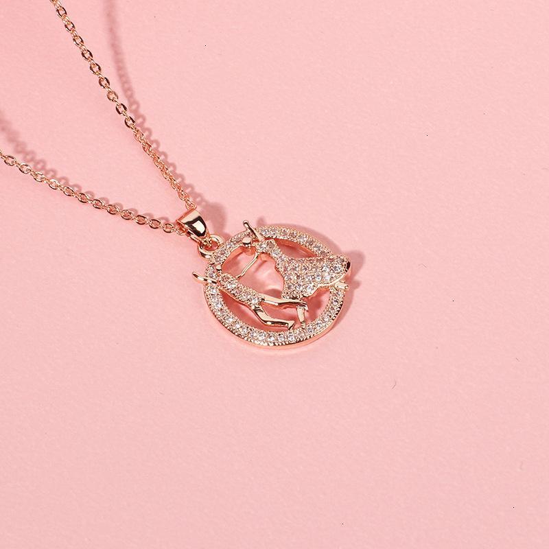 02CO 70% di sconto Tiktok, pendente di balletto, diamante rosso rosa rossa, collana di perle, collana