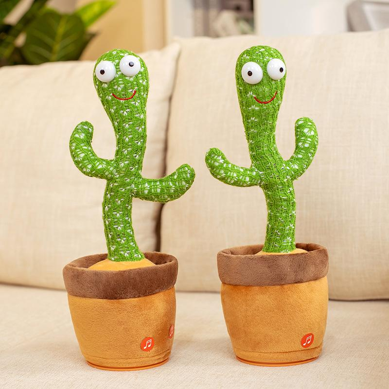 2021 Explosive Internet Celebrities Will Dance And Twist Cactus Toys Music Songs Gifts Creative Ornament To Attract Customers