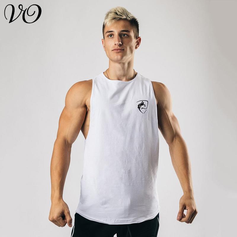Lobo rei esportes esporte colete de basquete treinamento roupas lazer moda sem mangas cantilevered homens boutique tanques