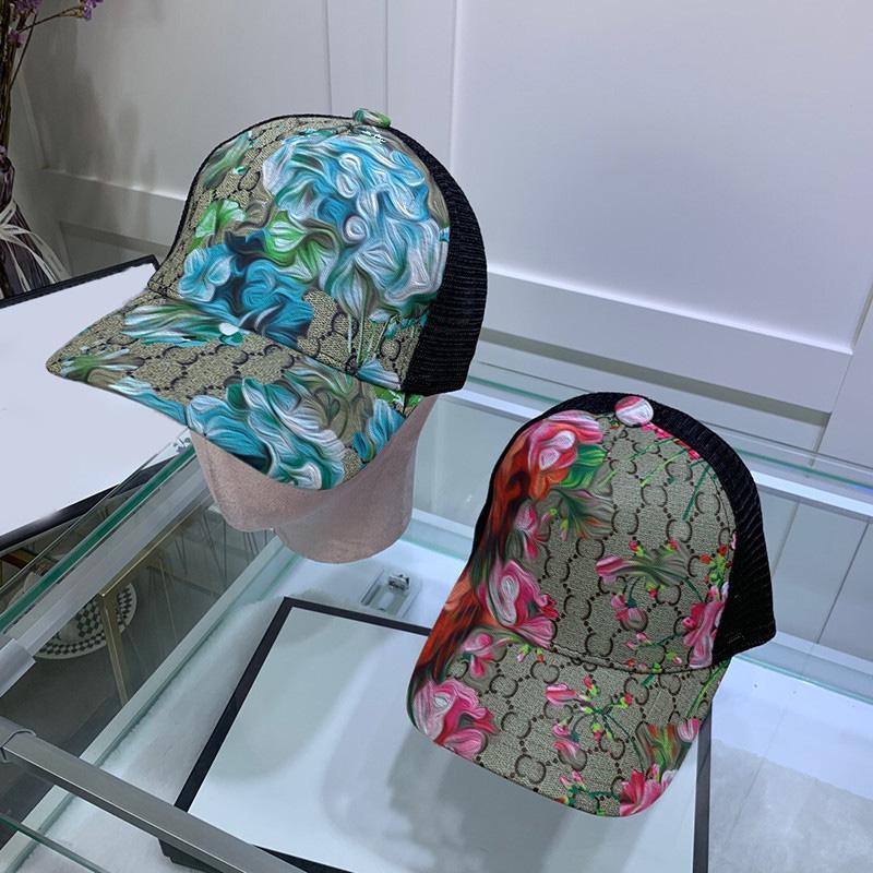 زوجين العلامة التجارية الكرة قبعات رسائل مصمم قماش قبعات النساء الرجال قبعات الهيب هوب قبعة القبعات هدية قبعة بالجملة