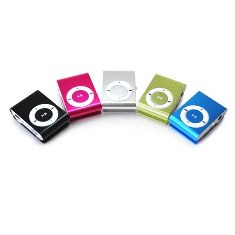 Stylish Mirror Portable MP3 Player Mini Clip Walkman Sport Music With 8GB Memory Card & MP4 Players