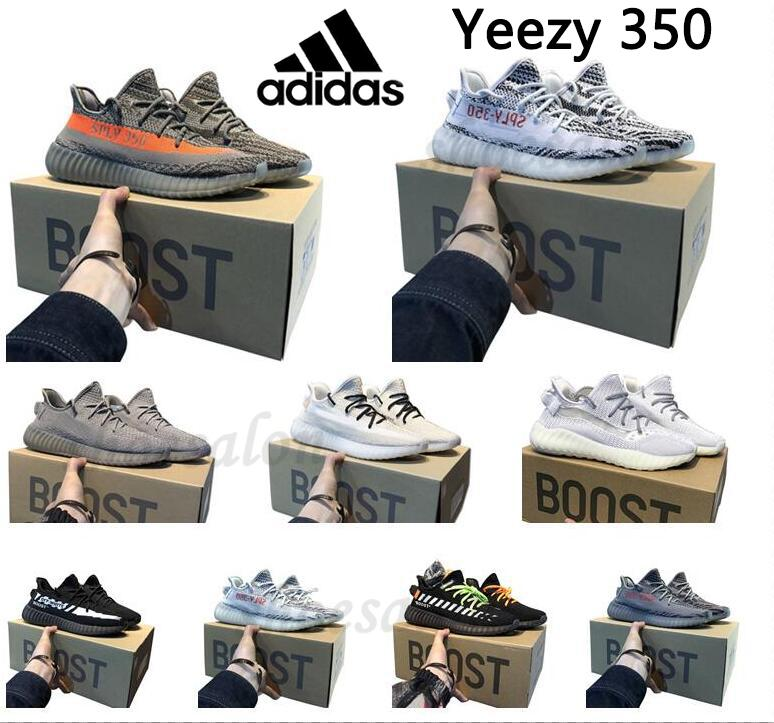 adidas kanye west yeezy boost 350 v2 yeezys yezzy chaussures men yecheil scarpe 2021 shoes earth cinder zyon 3m white black reflective mens women stock x sneakers